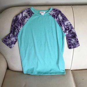 Lularoe Girls Mickey Mouse shirt Size 6